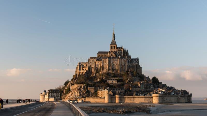 Mont Saint Michel imagen de archivo