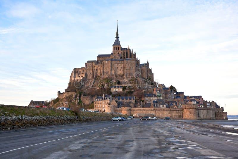 Download Mont Saint-Michel abbey stock image. Image of famous - 18609391