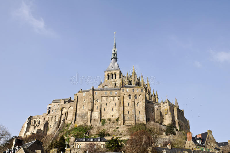 Download Mont Saint Michel abbey stock photo. Image of glass, french - 18678316