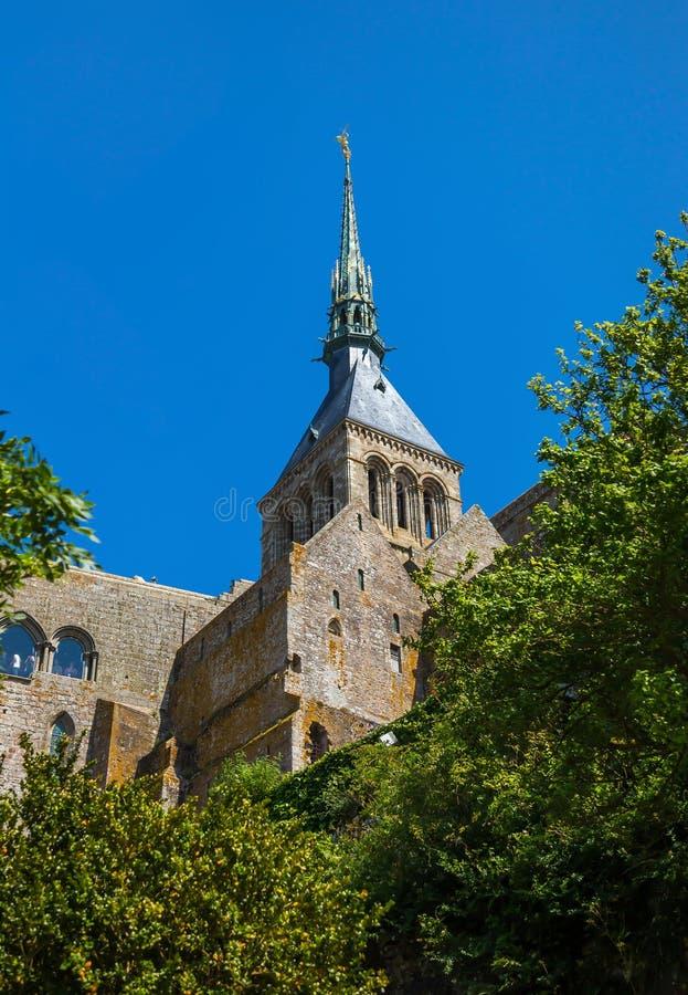 Mont Saint Michel Brittany, France image libre de droits
