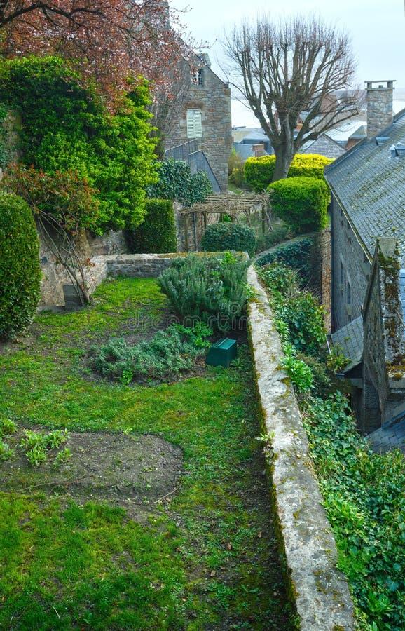 Mont Saint-Michel (França) foto de stock royalty free
