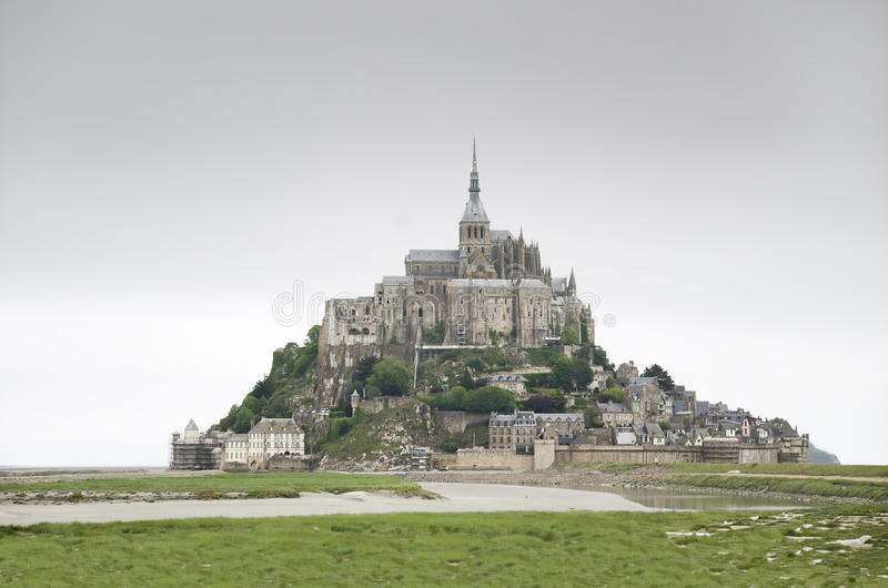 Download Mont Saint Michel, France stock photo. Image of cathedral - 25389760