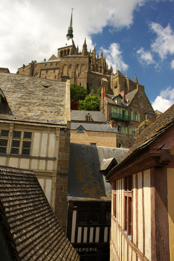 Free Mont Saint-Michel France Royalty Free Stock Photography - 5410807