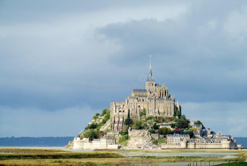 Mont Saint Michel in Francia immagini stock