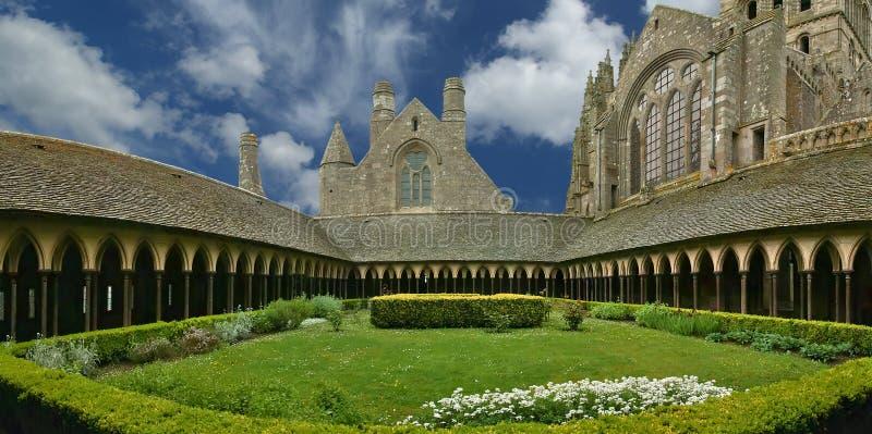 Mont Saint-Michel, Normandy, França imagem de stock royalty free