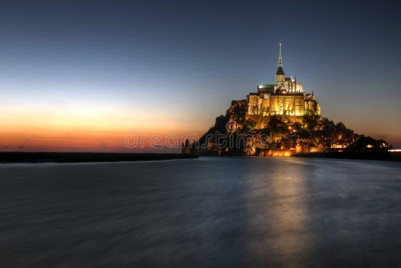 Mont Saint Michel, Normandy, France stock images