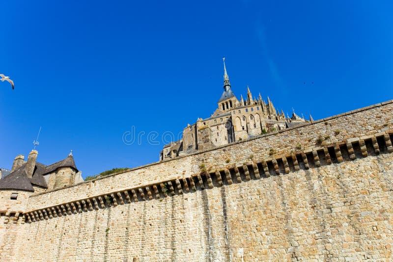 Mont Saint Michel fotografie stock