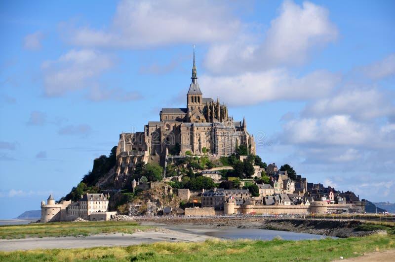 Mont saint michel w Francja fotografia stock