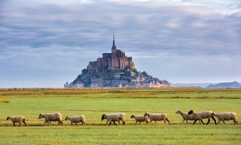 Mont saint michel zdjęcie stock