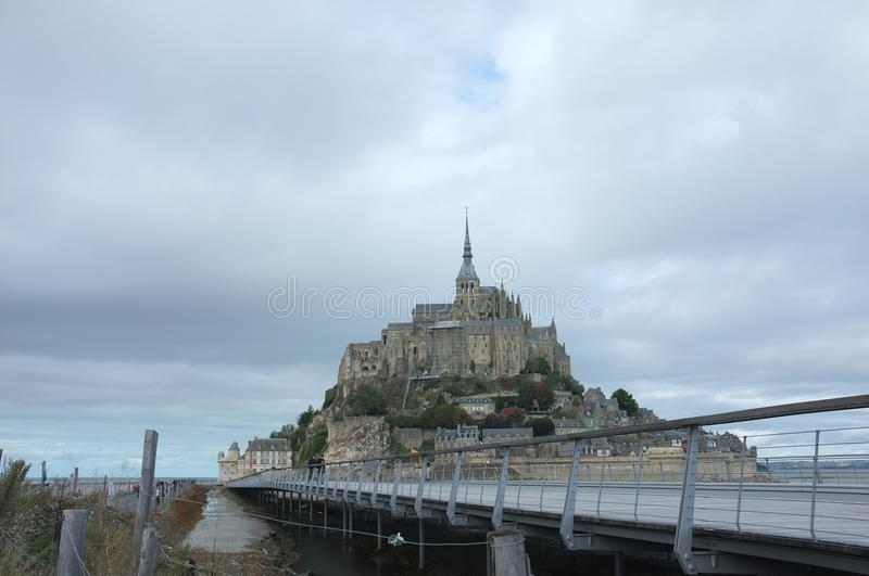 Mont san Michel photographie stock