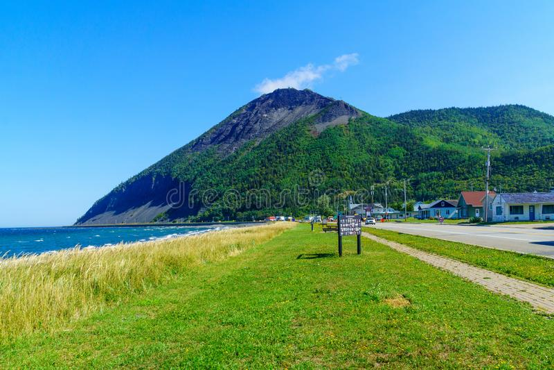 Mont-San-Pierre, penisola di Gaspe fotografie stock