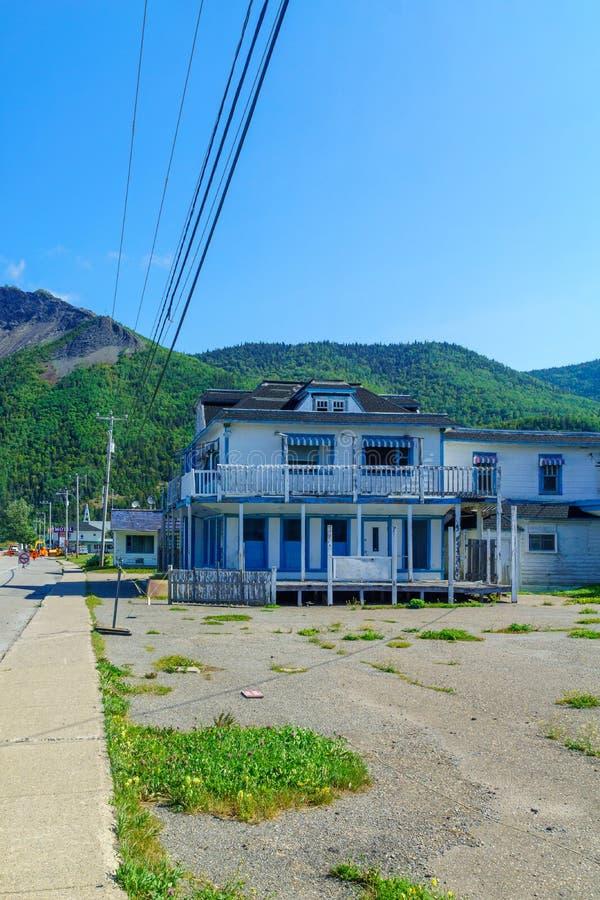 Mont-San-Pierre, penisola di Gaspe immagine stock