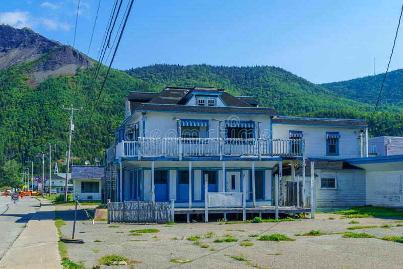 Mont-San-Pierre, penisola di Gaspe fotografie stock libere da diritti