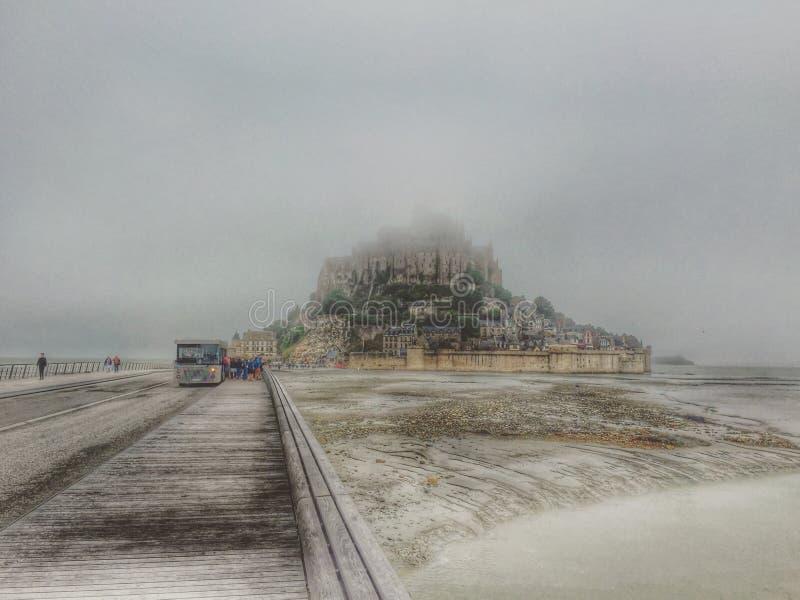 Mont St迈克尔 免版税库存图片