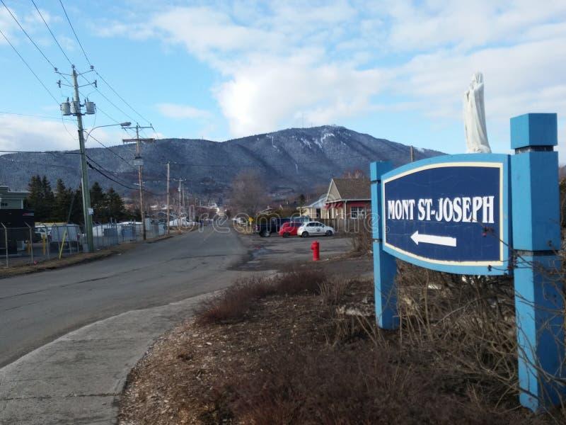 Mont St Joseph fotografia de stock royalty free