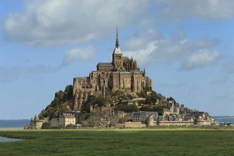 Download Mont St. Michel stock image. Image of landmark, cathedral - 16471909