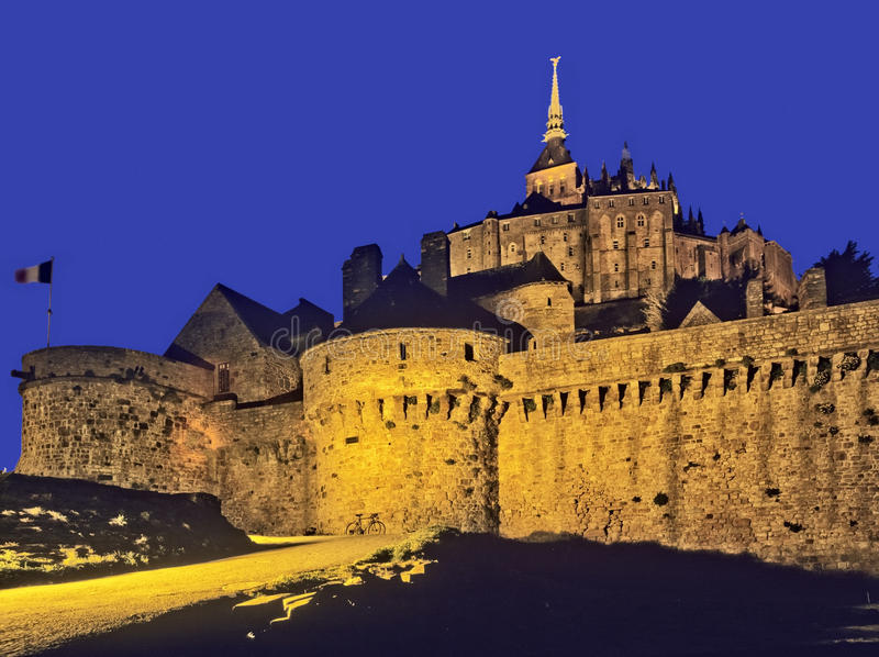 Download Mont st michel stock image. Image of building, monument - 23850151