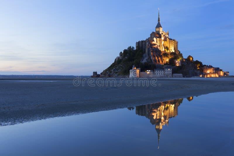 Mont St Michel fotografia stock libera da diritti