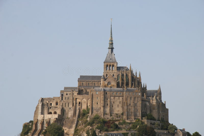 Download Mont st. michel stock photo. Image of town, island, sight - 5675214