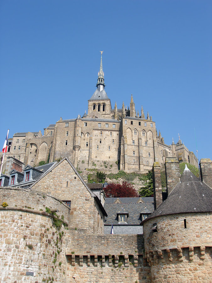 Download Mont St Michel stock photo. Image of monastery, medieval - 8599986