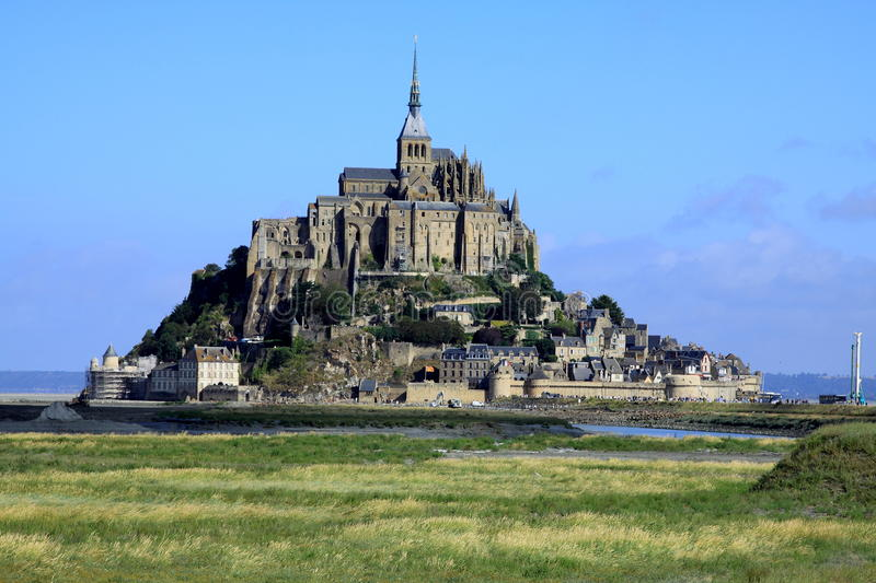 Download The Mont St-Michel.  France Stock Image - Image of abbey, atlantic: 29015679