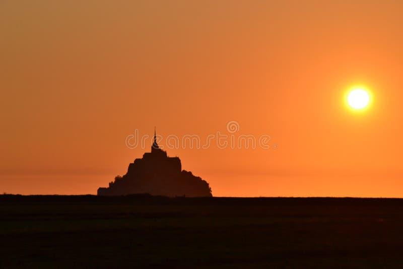 Mont St Michel, France At Sunset Free Public Domain Cc0 Image