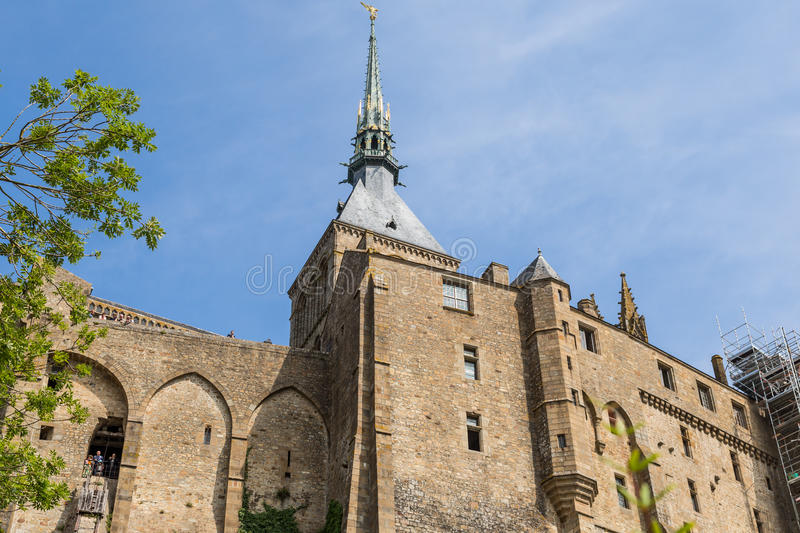 Download Mont St Michel, Normandy, France Stock Photo - Image: 33057940