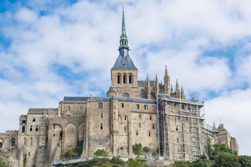 Download Mont St Michel, Normandy, France Stock Image - Image: 33060261