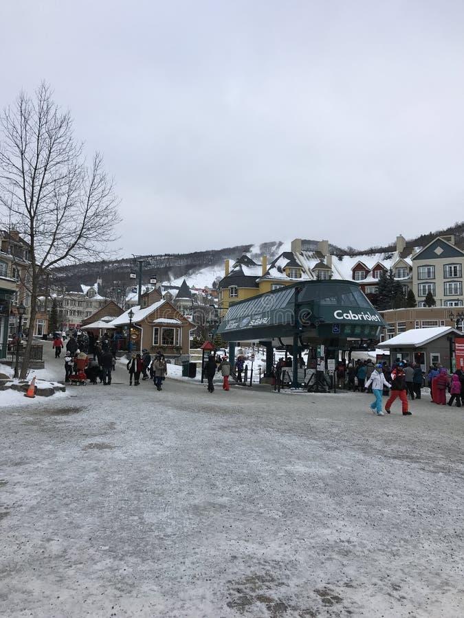 Mont Tremblant stockfoto