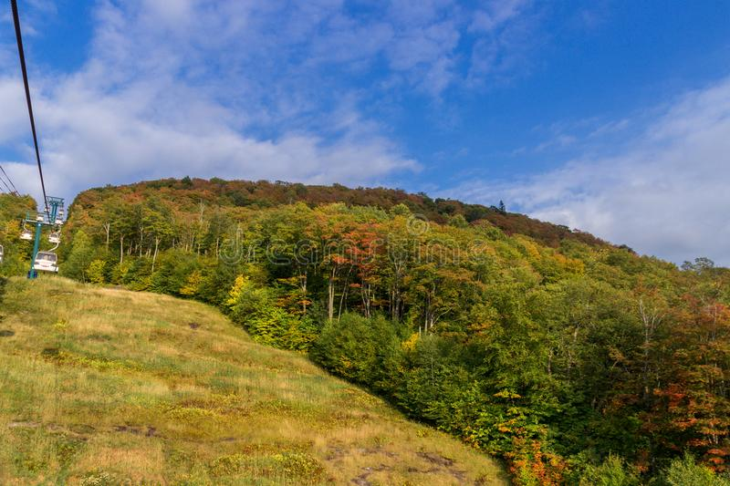 Mont Tremblant Canada royalty free stock image