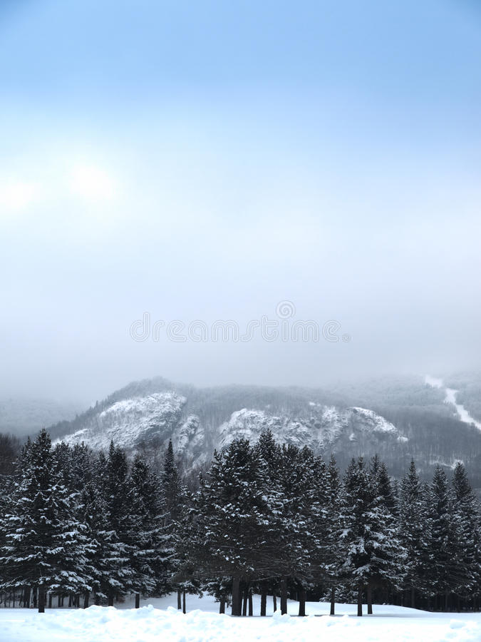 Mont-Tremblant south hdr stock images