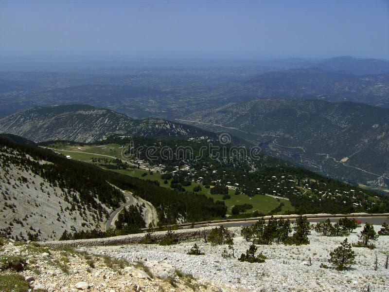 Mont Ventoux 库存照片