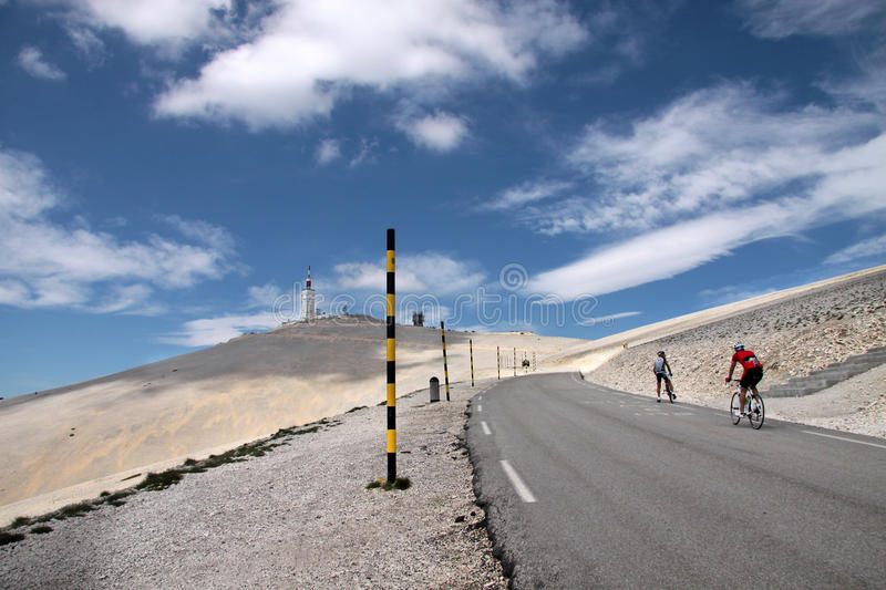 Download Mont Ventoux stock image. Image of blue, alpes, bicycle - 16307653