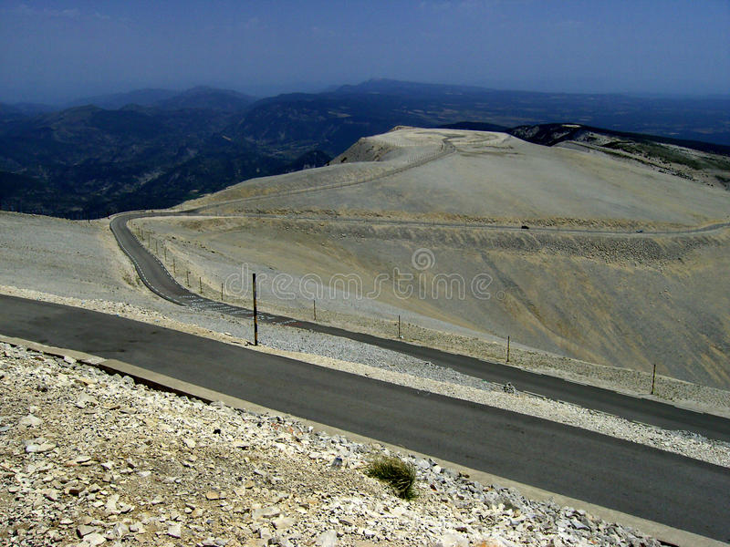 Download Mont Ventoux stock photo. Image of mineral, tour, vaucluse - 9439342