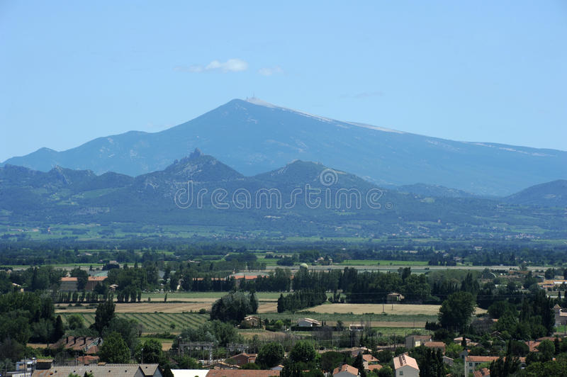 Download Mont Ventoux near Orange stock image. Image of mont, provence - 27756587