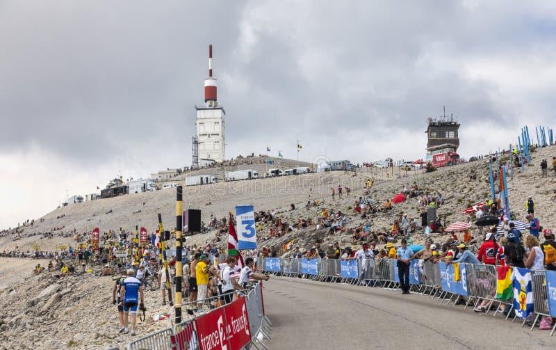 Mont Ventoux- Tour De France 2013 Editorial Photo