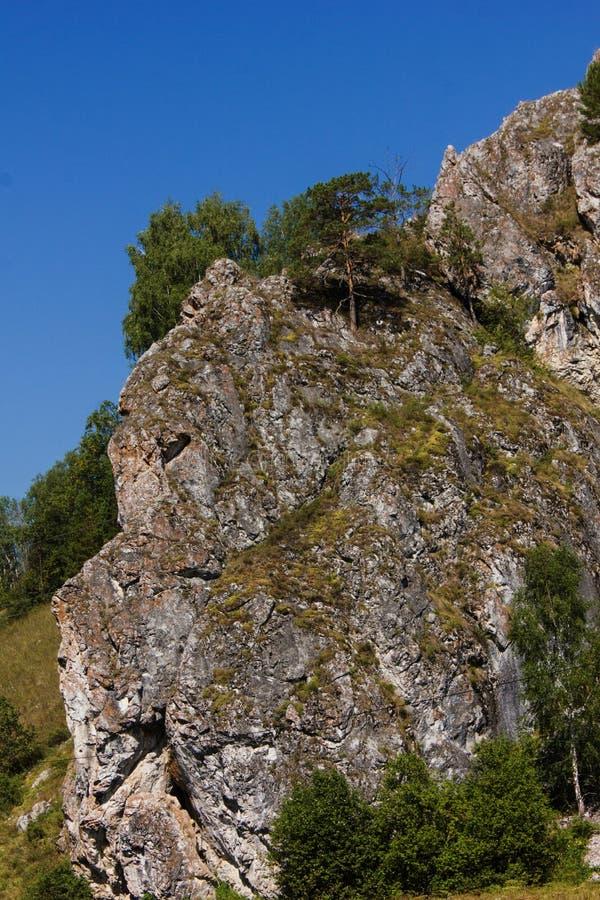 Montaña en reserva de naturaleza de Shulgan-Tash Kapova foto de archivo