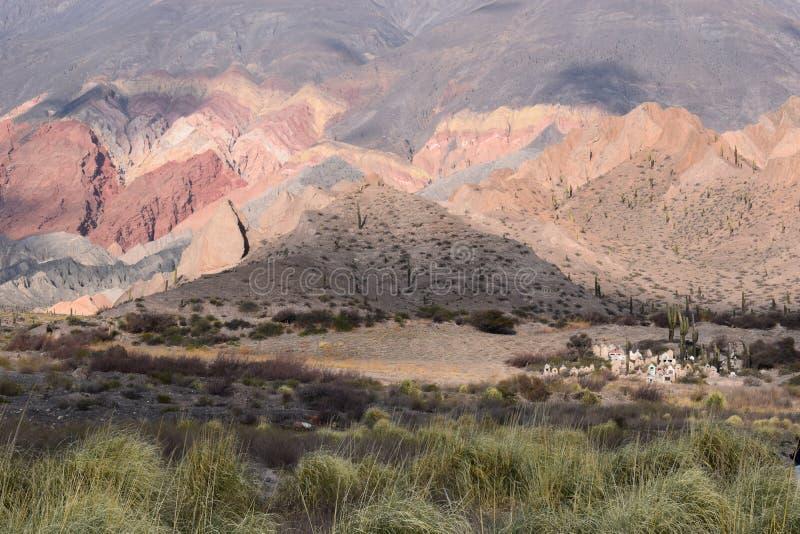 Montañas de las d'en d'Atardecer photo libre de droits