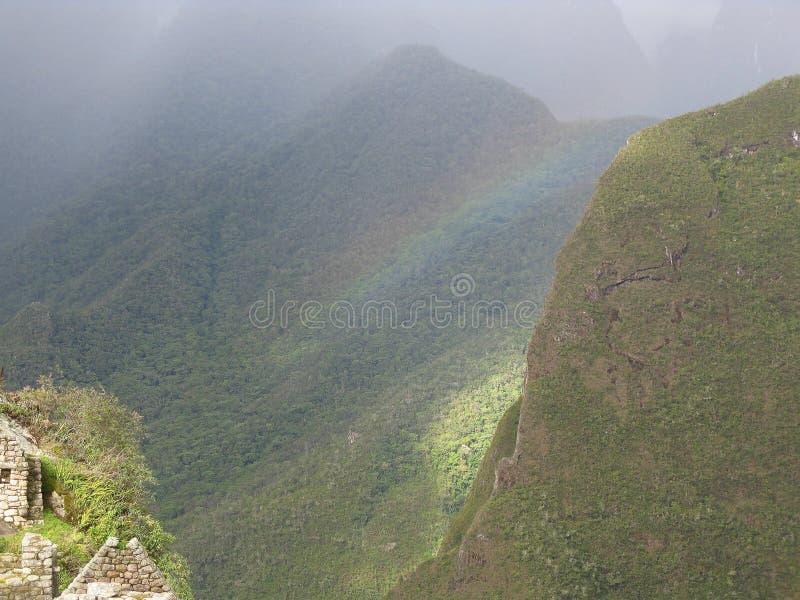 Montañas de Peru arkivfoton
