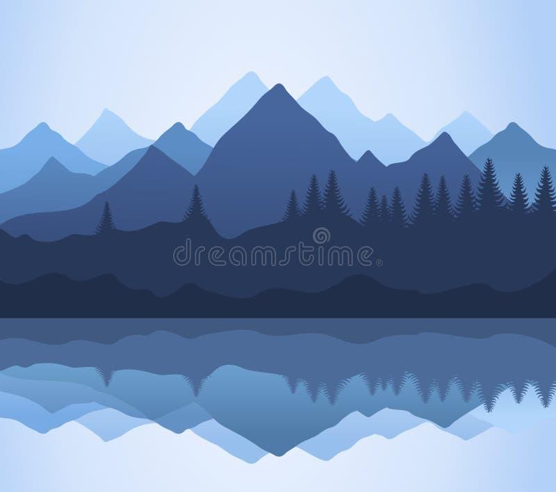 Montaña stock de ilustración