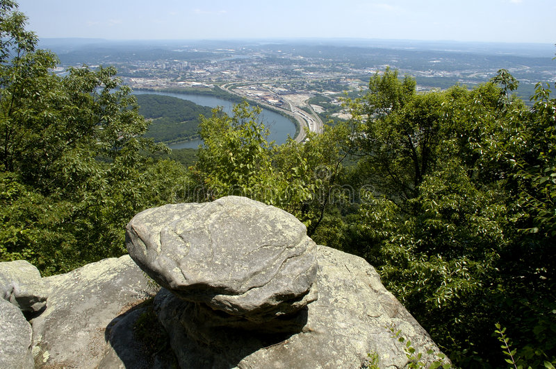 Montaña 2 del puesto de observación de la guerra civil fotos de archivo