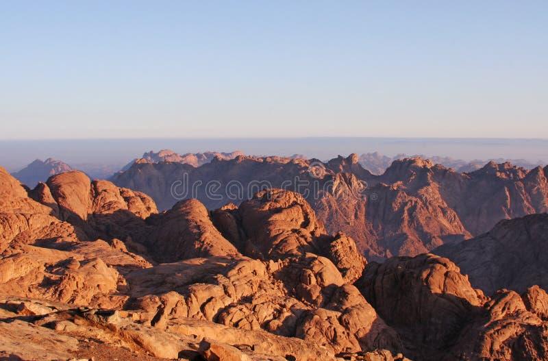 Montaña 3 de Moses foto de archivo