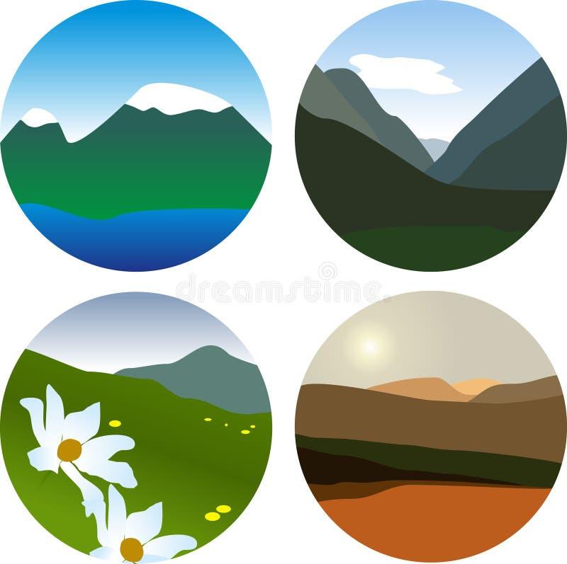 Montaña libre illustration