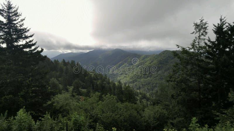 Montaña ahumada Ridge imagenes de archivo