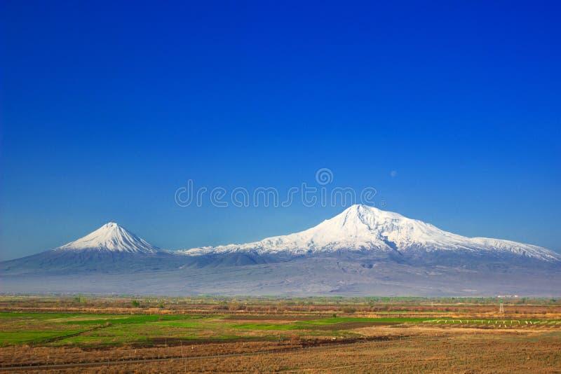 Montaña Ararat fotografía de archivo