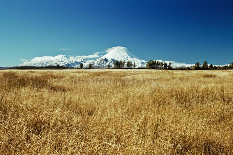 Montaña blanca fotos de archivo