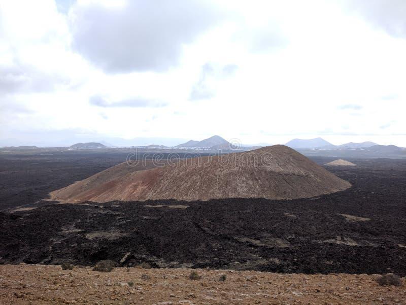 Montaña Caldereta royalty free stock photos