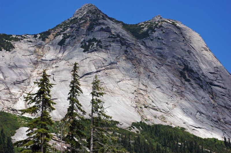 Montaña calva imagen de archivo
