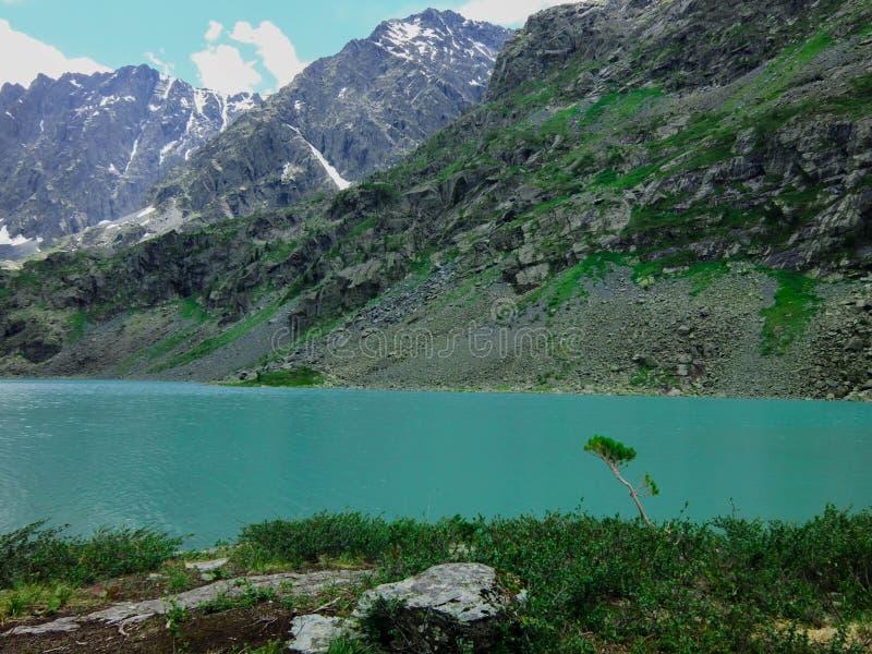 Montaña cero en el Altai imagenes de archivo
