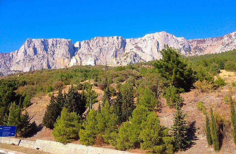 Montaña Crimea imagen de archivo